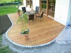 Terrassenbelag Laerche Terasse Garten Ideen