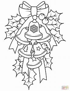 bells and coloring page free printable