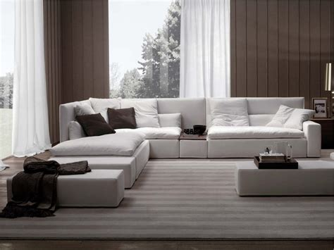 Gienne Poltrone E Divani : High-back Sofa By Frigerio Salotti