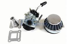 performance carburetor air filter assembly 47cc 49cc pocket bike carb ca42