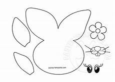 Easter Bunny Paper Craft Easter Template
