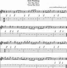 folk and traditional music sheet music mandolin tab midi mp3 and pdf for irish wedding