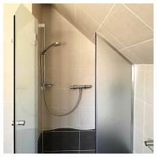 Duschtüre Glas Nische - nischen dusche aus glas ma 223 gerfertigt meitinger glas