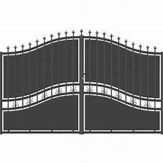 portail en fer leroy merlin portail battant aluminium olympia festonne gris anthracite