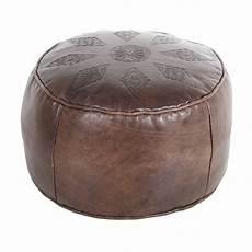 sitzkissen pouf casa moro pouf 187 orientalisches leder sitzkissen pouf
