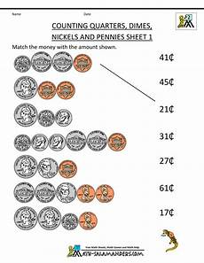 money worksheets pennies and nickels 2289 free money worksheets counting quarters dimes nickels and pennies 1 money worksheets money