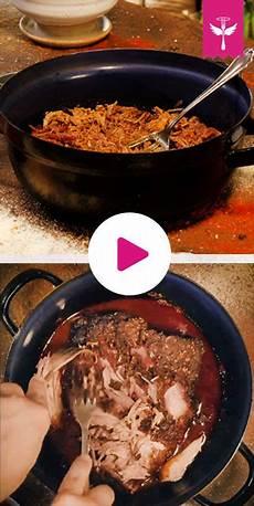 pulled pork selber machen pulled pork aus dem ofen so geht s kochvideos und