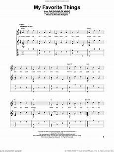 hammerstein my favorite things sheet music intermediate
