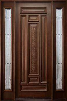 Single Door Doors by Front Door Custom Single With 2 Sidelites Solid Wood