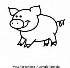 Malvorlagen Einfach Und Schnell Ausmalbild Einfaches Schwein Zum Ausdrucken