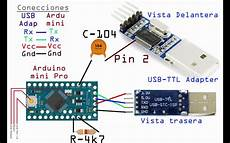 arduino mini pro working and programing