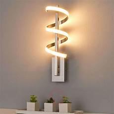 twisted led wall light pierre lights co uk