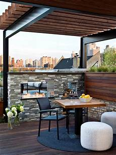 industrial pergola chicago rooftop deck hgtv