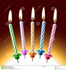 candele buon compleanno candele di compleanno illustrazione di vettore