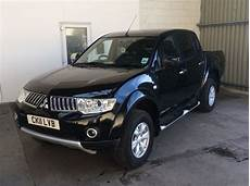 4x4 mitsubishi l200 mitsubishi l200 trojan 2011 2 5 di d manual 4x4 black with
