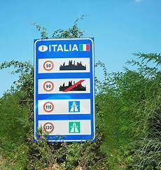 geschwindigkeit autobahn italien tempolimit italien italien journal