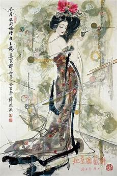 Malvorlagen Zahlen Xing Tea Ceremony Xue Xing Geisha Illustration