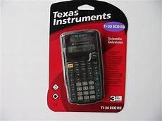 taschenrechner texas instruments ti 30 eco rs intruments ti 30 eco rs schul taschenrechner