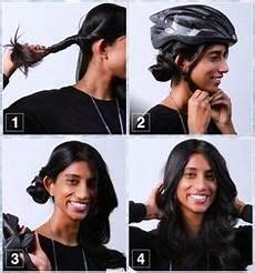 10 easy helmet friendly hairstyle tutorials for looking