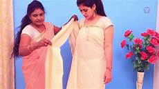275 best traditional kerala style how to wear saree draping kerala set i perfectly with