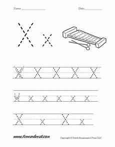 letter x traceable worksheets 24337 letter x worksheet tim s printables