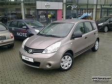 nissan note visia 2012 nissan note visia ac cd car photo and specs