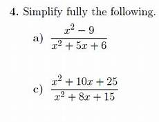 fraction algebraic expressions worksheets 3925 a worksheet on expanding and factorising algebraic expressions including quadratics and