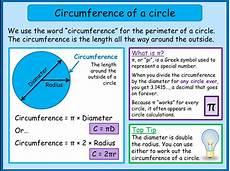 umfang kreis berechnen formel circumference of a circle mnm for students