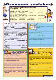 grammar worksheets for adults esl 24681 grammar revision 3 5 tasks for intermediate intermediate level 30 minute test