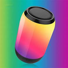 Bakeey Portable Charging Wireless Bluetooth Colorful by Bakeey Portable Colorful Led Light Wireless Bluetooth