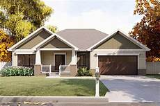 ranch craftsman house plans craftsman ranch house plan 62565dj architectural