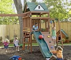 Kinderspielplatz Selber Bauen - kinder spielplatz selber bauen kletterburg mit rutsche