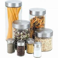 glass canister set for kitchen barrel studio 16 glass kitchen canister set