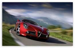 Alfa Romeo 8C Competizione 4K HD Desktop Wallpaper For