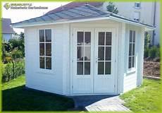 5 eck gartenhaus blockhaus 3x3m 5 eckige aus holz