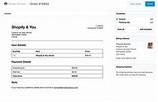 Quickbooks Receipt Printer Template by Invoices In Shopify The Definitive Guide Shopify You