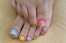 15 spring toe nail art designs ideas stickers 2016