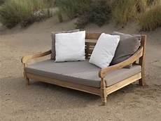 Lounge Sofa Outdoor Günstig - kawan lounge garten outdoor sofa teak recycled mit kissen