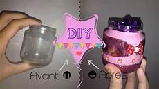 diy customiser un pot en verre