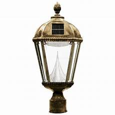 gama sonic royal solar weathered bronze outdoor light 3 in fitter gs 98f wb the