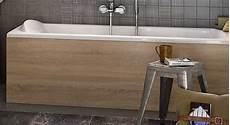 tablier de baignoire bois les tabliers delpha assortis aux meubles vasques