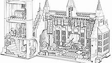 coloring pages lego harry potter hogwarts great
