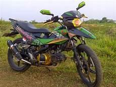 Modifikasi Kawasaki by Modifikasi Motor Kawasaki Athlete Keren Terbaru Otomotiva
