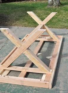gartentisch selber bauen rustikal gartentisch selber bauen anleitung garten
