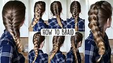 Ways Of Braiding Hair