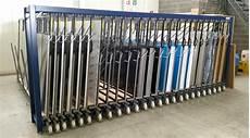 metal sheet rack vertical eurostorage storage sheets