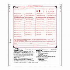 w3c c transmittal forms for w 2c 2 part carbonless