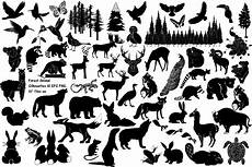 forest animal silhouettes ai eps png 279174