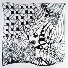 muster malen ᑕ ᑐ zentangle muster vorlagen nachmalen