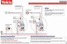 schema volet roulant porte de garage installation schema centralisation volet